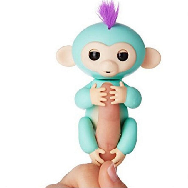 6 colour No function Fingerlings Baby Monkeys Finger Lings Smart monkey Toys Colorful Toy For Kid