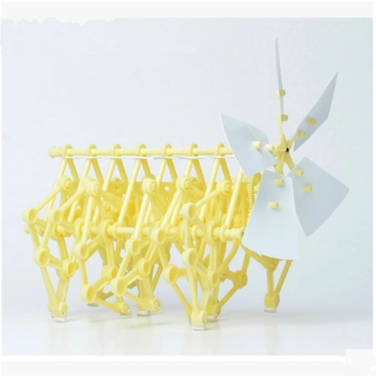Wind Animal Technology Small Production Diy Toy Manual Invention Bionic Mechanical Beast Beast Robot Wind Power
