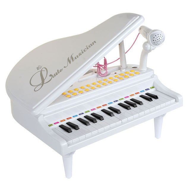 BAOLI 31 Keys Electronic Piano Baby Toys  Keyboard Musical Instrument With Microphone Early Educational Toys Gift for Children
