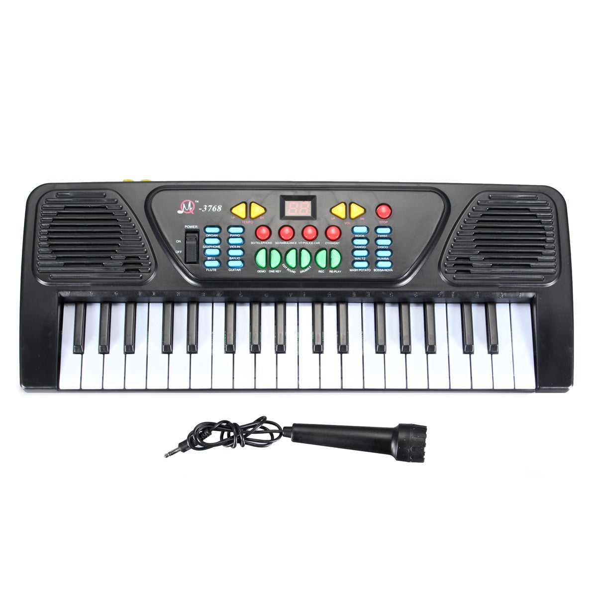 37 Keys Digital Music Electronic Keyboard Kid Electric Piano Organ Musical Instrument Toy For Children Learning Toy Sets