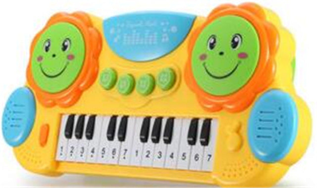 Actionbabei New 10 Scales Boy girl Hand Knock Piano Children's electronic piano Baby early education piano music 0-1-3 years toy
