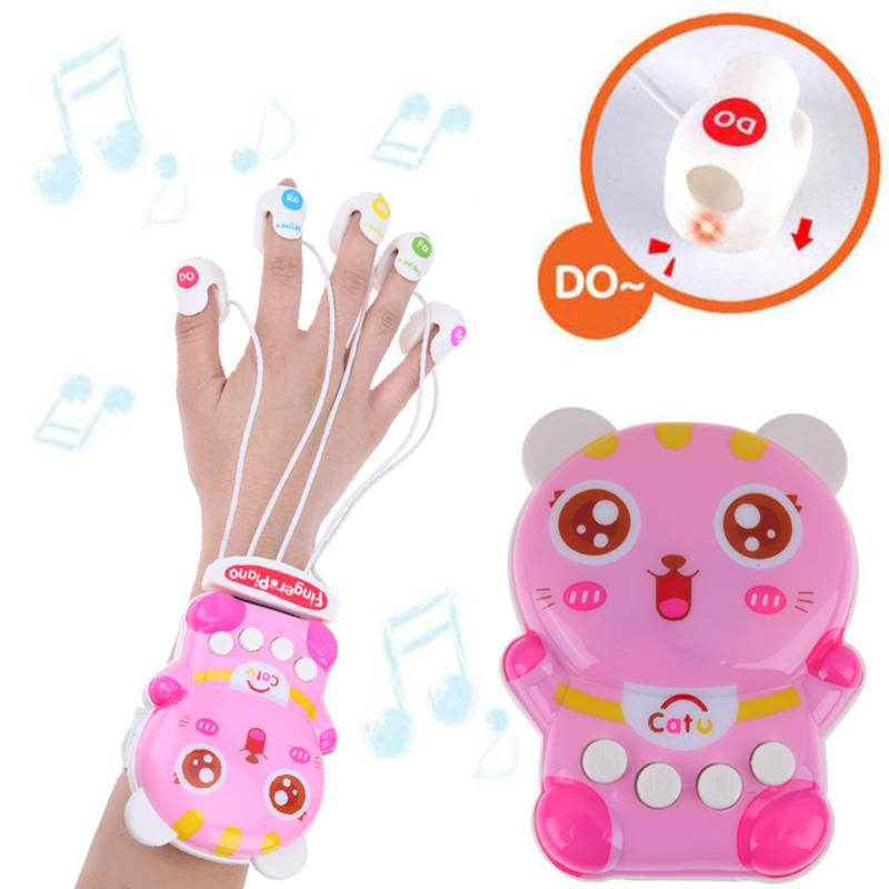 Multifunction Finger Electronic Piano Kids Puzzle Early Learning Music Toy  Baby Creative Educational Funny Toys