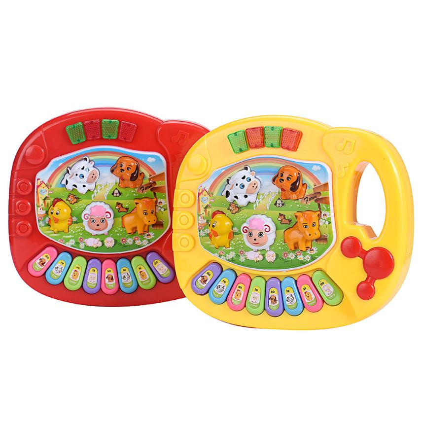 New Arrivals Baby Kids Musical Educational Animal Farm Piano Developmental Music Toys Children Gifts Wholesale Prices