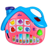 Educational Baby Happy Hut Keyboard Music For Toys Unisex Children Learning & Exercising Type Plastic Electronic