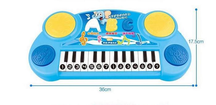 Sale Multifunctional Musical Light Baby Piano Boys Girl Electronic Music Toys Kids Children's Musical Instrument