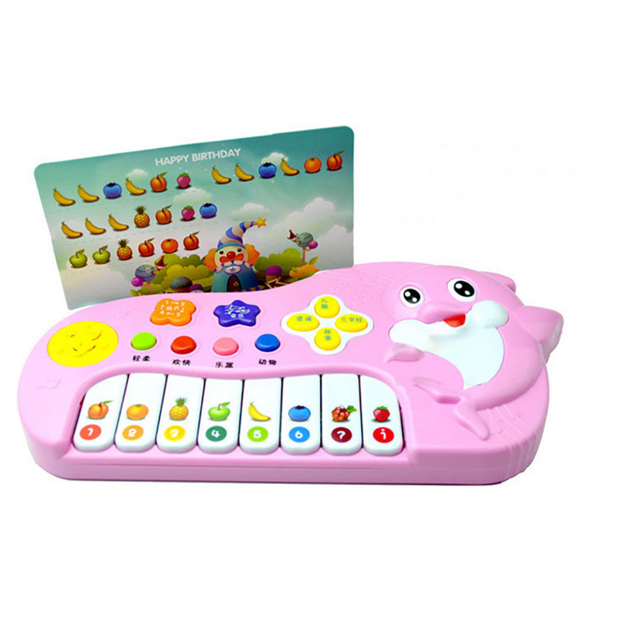 High Quality New Baby Kids Musical Educational Animal Farm Piano Developmental Music Toy Free Shipping