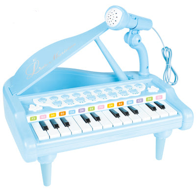Children Baby Toy Music 24 Key Piano Set Toys Kid Machine Musical Instrument Band Early Educational Toy Music Birthday Gift