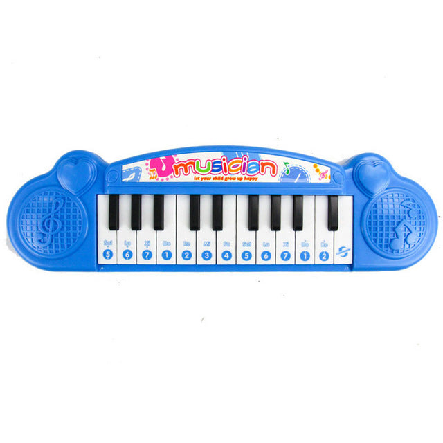 Early Toy instrument Classic shape Baby Learning Machine Toy with Lights & Music Piano Developmental Music Toys for Children