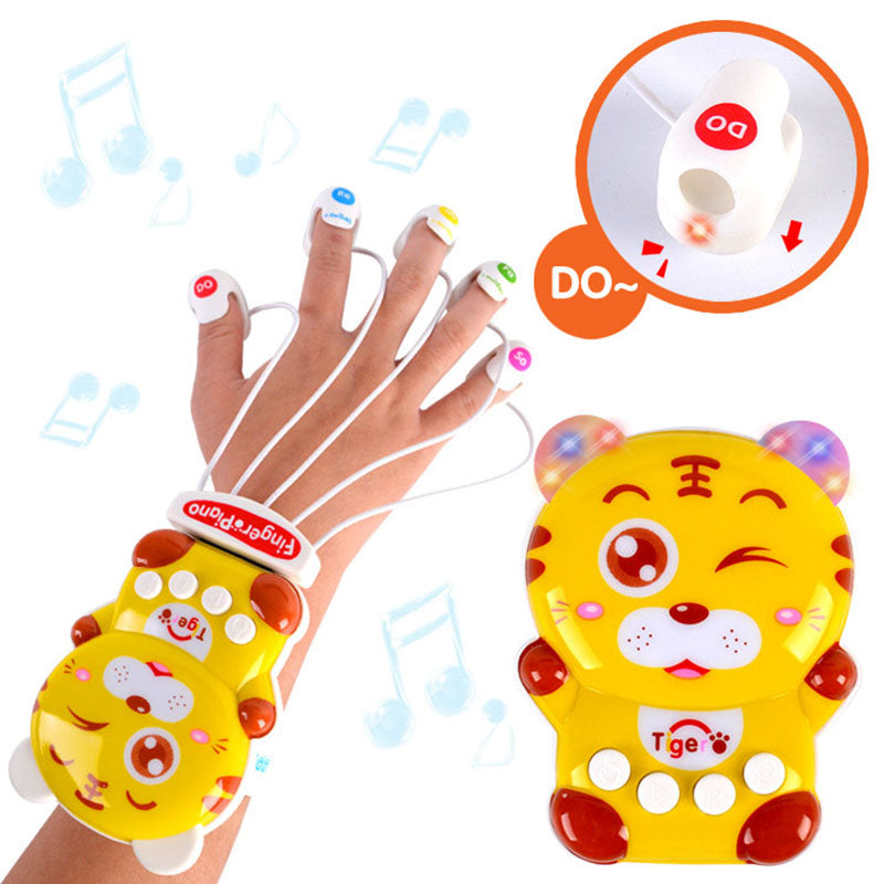 Hot New Mini Early Childhood Education Finger Piano Toys for Gift Children's Toys Electronic Piano Keyboard Musical Toy