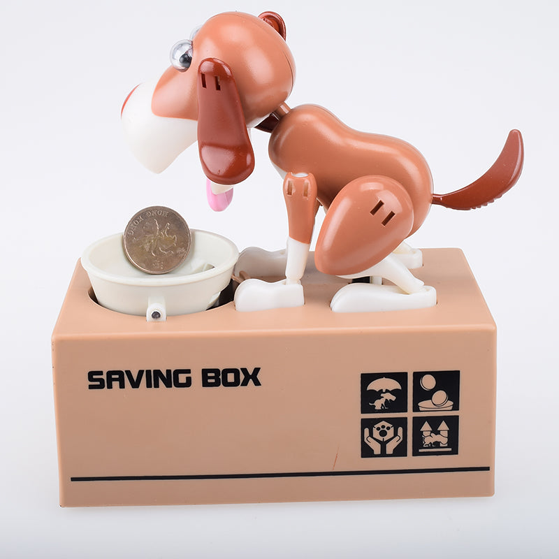 Electric toys Dog MoneyBox Money Electric Pets Piggy Bank Money Saving Box Moneybox Gifts for Children