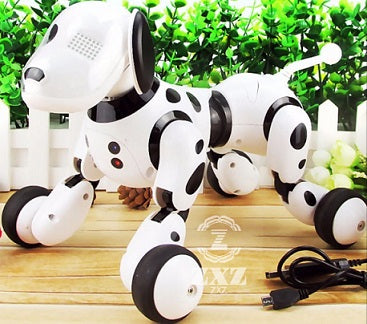 Wireless Remote Control Smart Dog Electronic Pet Educational Children's Toy Dancing Robot Dog without box birthday gift