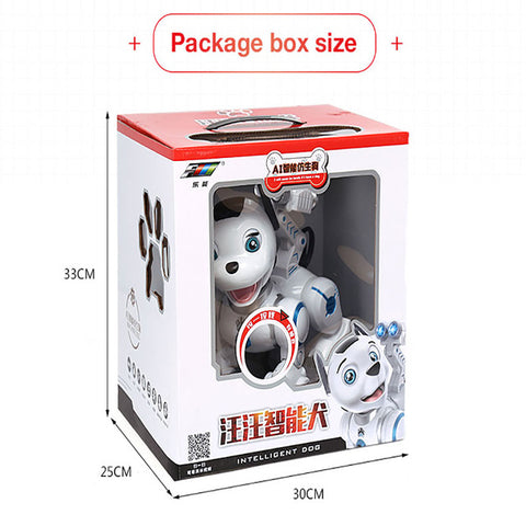 2.4G Wireless Remote Control Smart Dog Electronic Pet Educational Children's Toy Dancing Robot Dog without box birthday gift K10