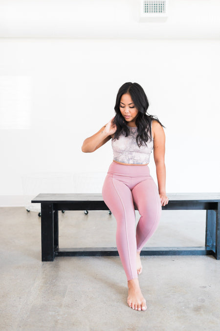 Playa Leggings - Quartz / Pink
