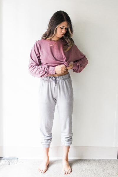 South Bay Sweater - Rose / Pink - Nourish Sweat Soul
