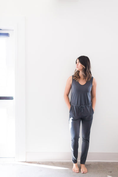 Westside Jumpsuit - Urban / Grey - Nourish Sweat Soul