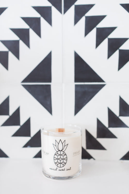 NSS x Milk Jar Candle - Nourish Sweat Soul