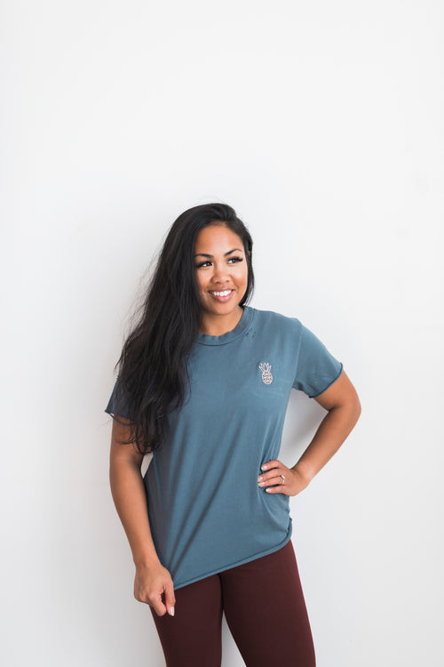 GIVER District Tee - Marine / Blue