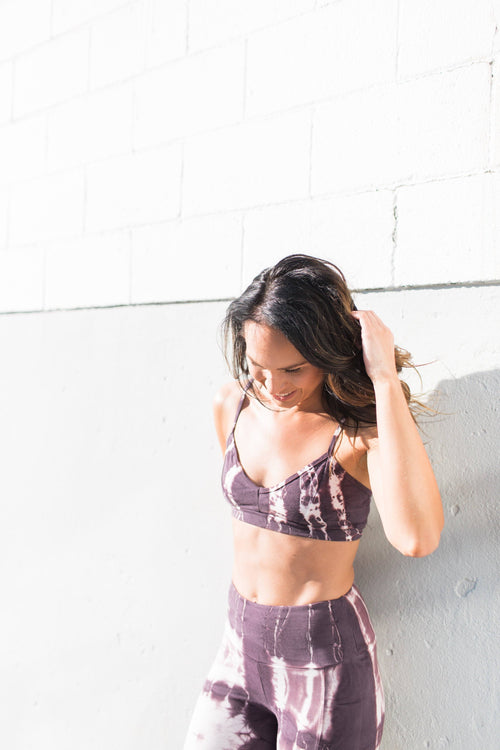 Echo Bra - Amethyst / Purple - Nourish Sweat Soul