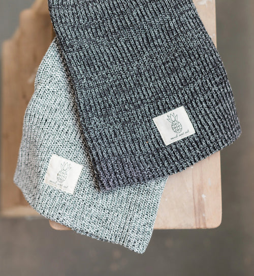 NSS Beanie - Salt / Pepper - Nourish Sweat Soul