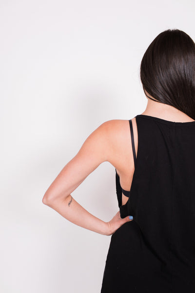 Malibu Dress - Black - Nourish Sweat Soul