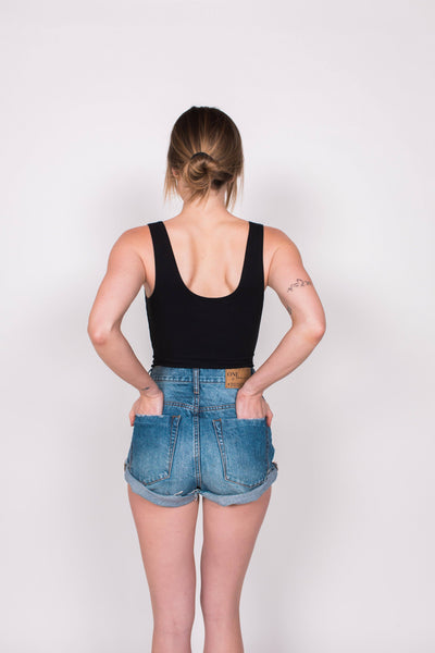 Melrose Bodysuit - Black - Nourish Sweat Soul
