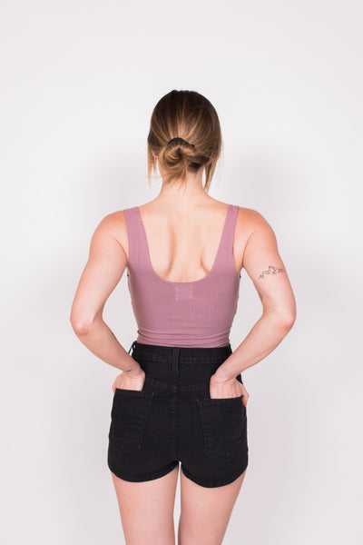 Melrose Bodysuit - Rose / Pink - Nourish Sweat Soul