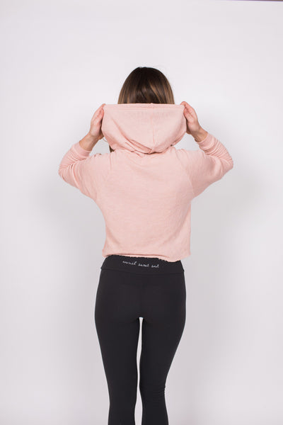 Palisades Hoodie - Dawn / Pink - Nourish Sweat Soul