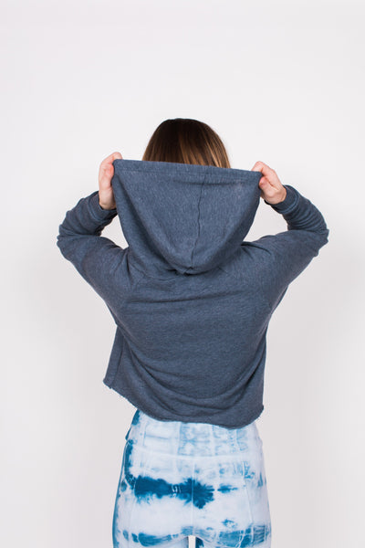 Palisades Hoodie - Marine / Blue - Nourish Sweat Soul