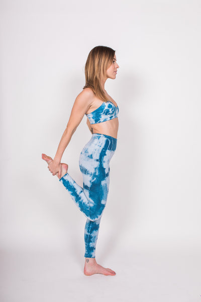 Playa Leggings - Sapphire / Blue - Nourish Sweat Soul