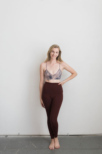 Topanga Leggings - Canyon / Red - Nourish Sweat Soul