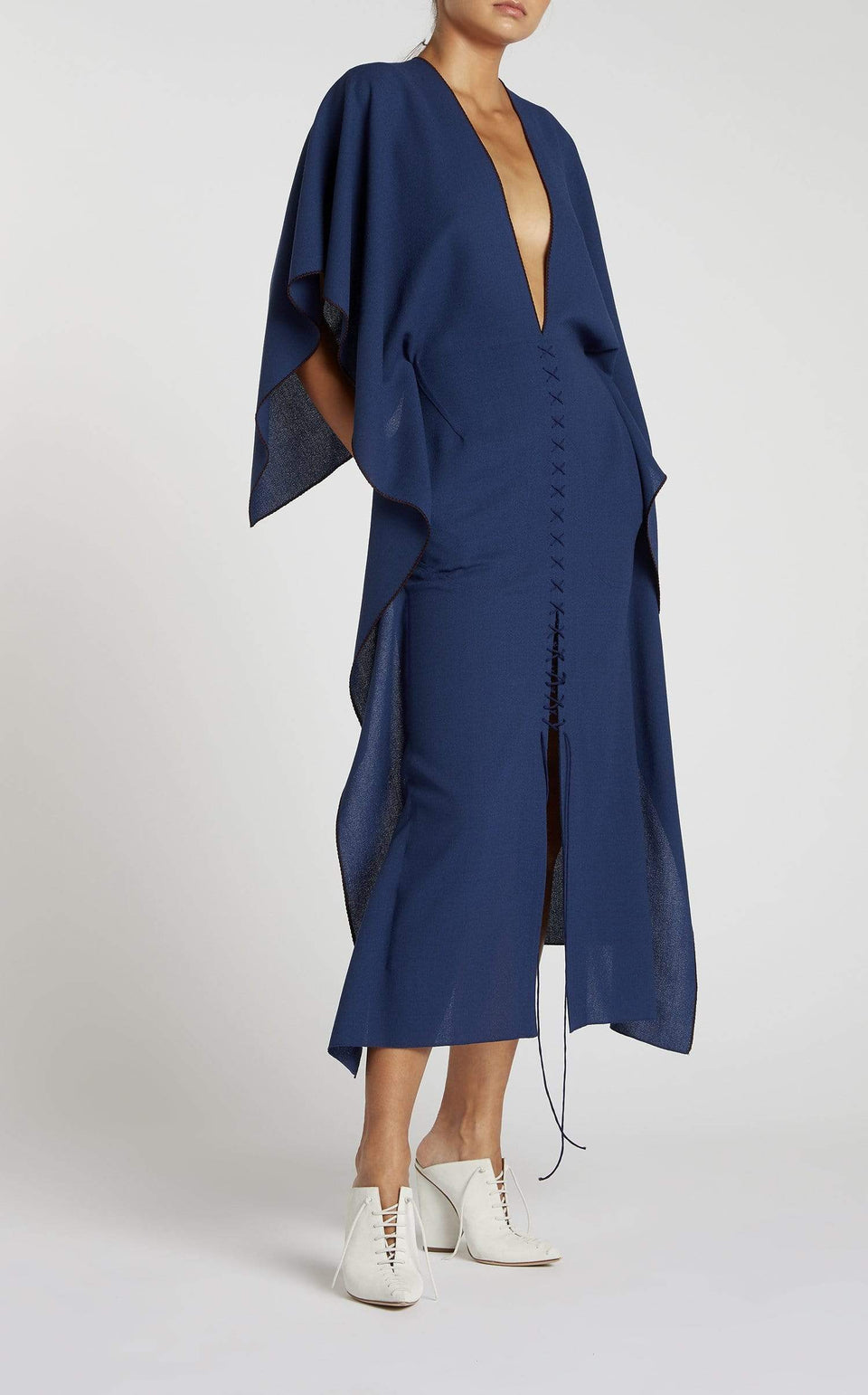 Adamson Dress In Capri Blue from Roland Mouret