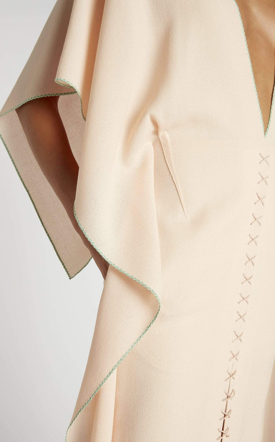 Adamson Dress In Light Peach from Roland Mouret