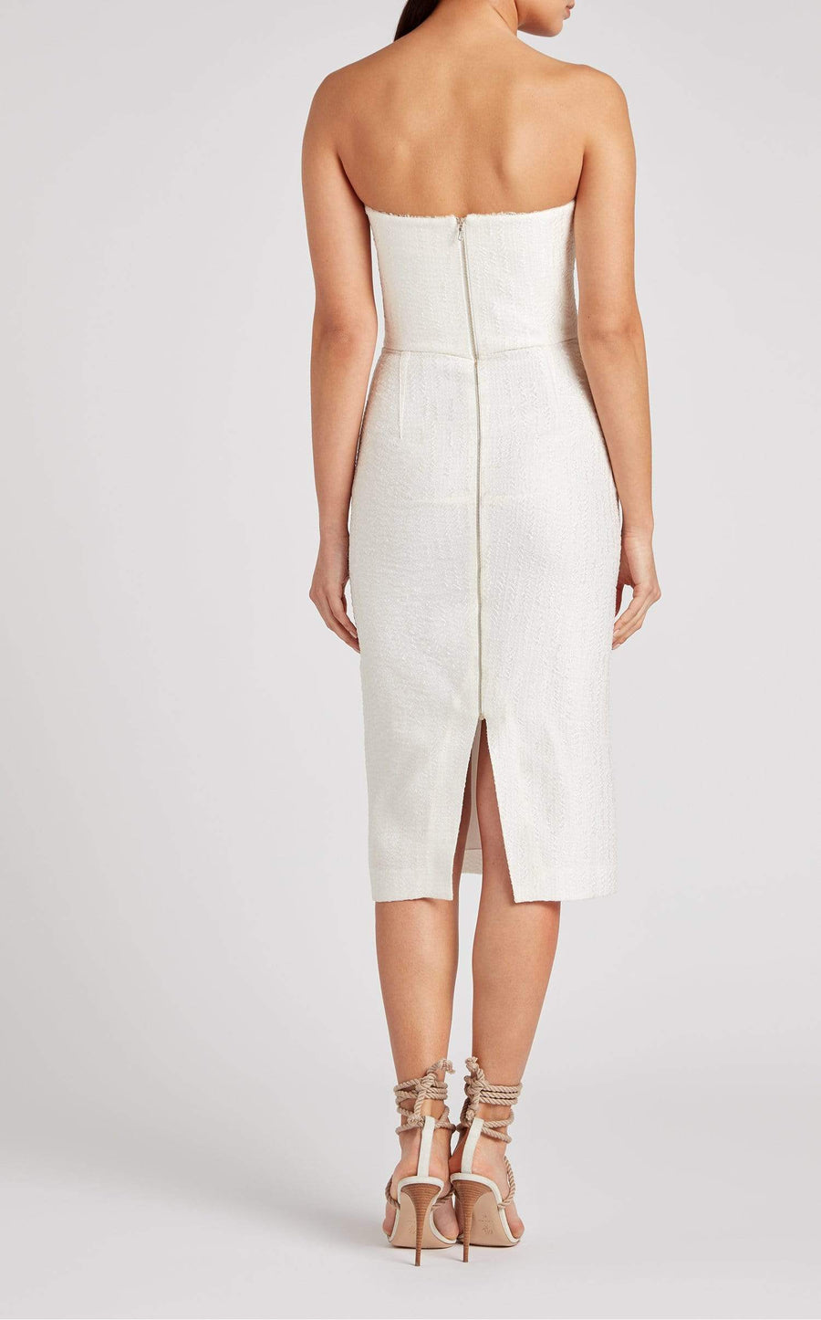 Aimee Dress In White from Roland Mouret