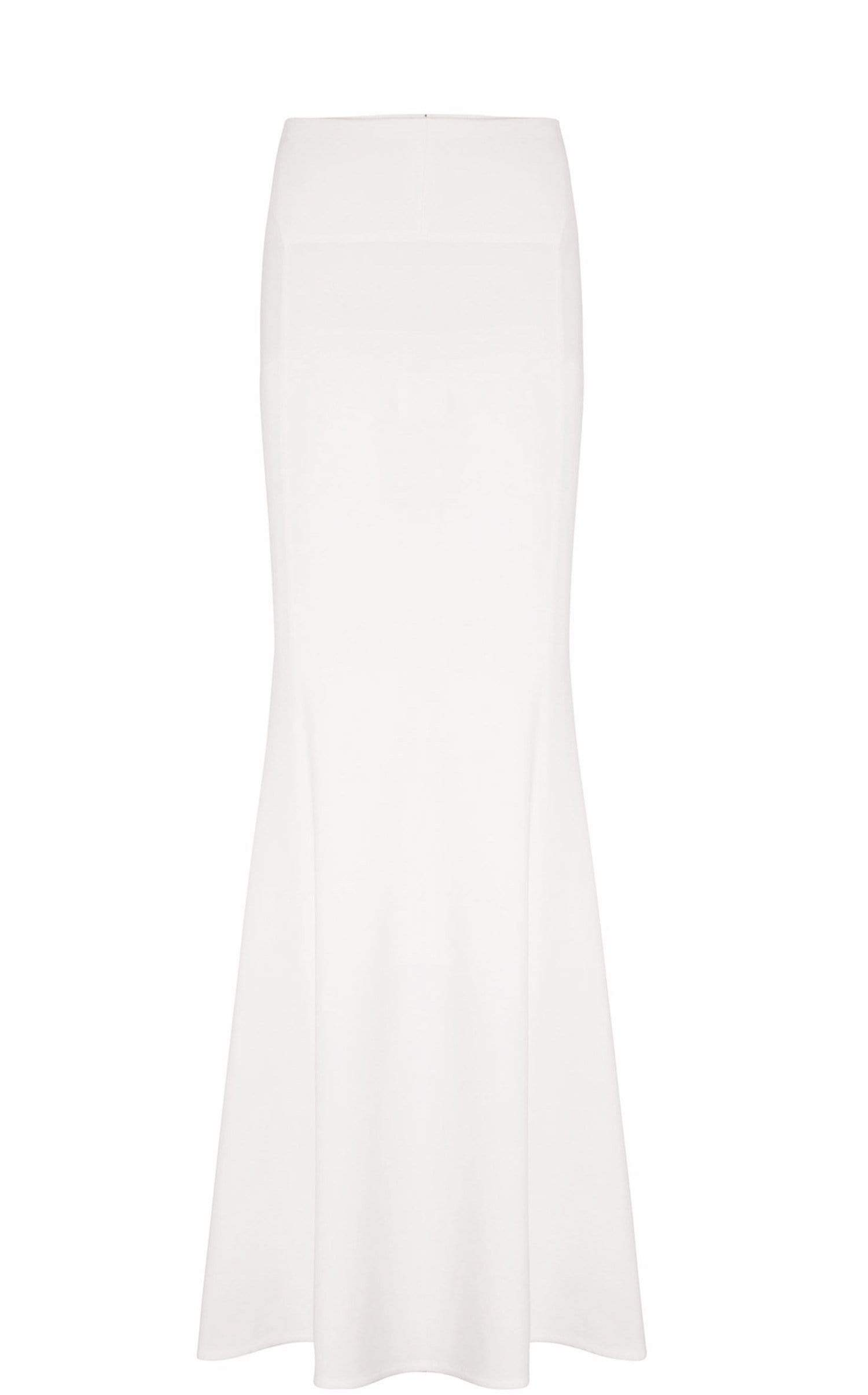 Aries Skirt In White from Roland Mouret