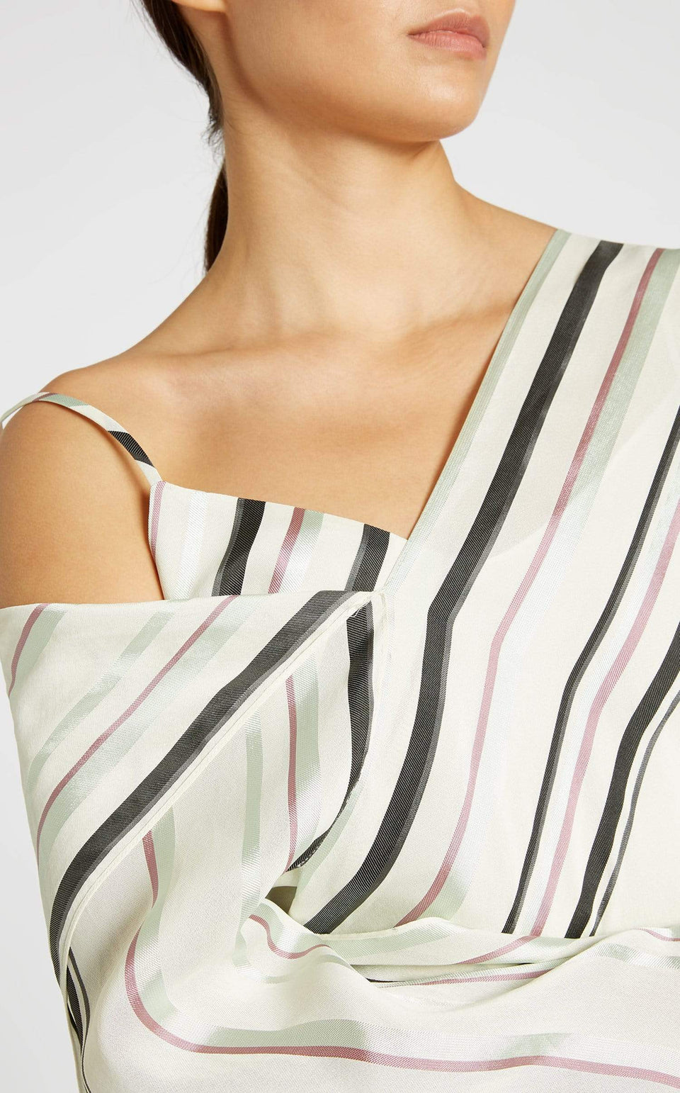Barrio Top In Pastel Multi from Roland Mouret