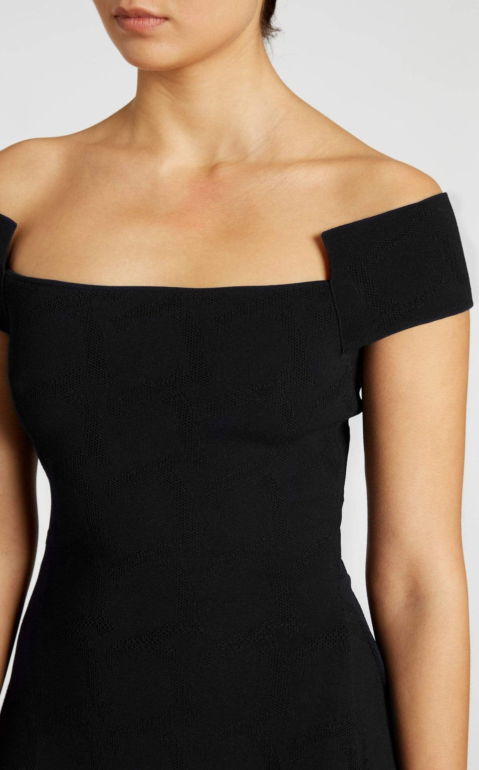 Beal Top In Black from Roland Mouret