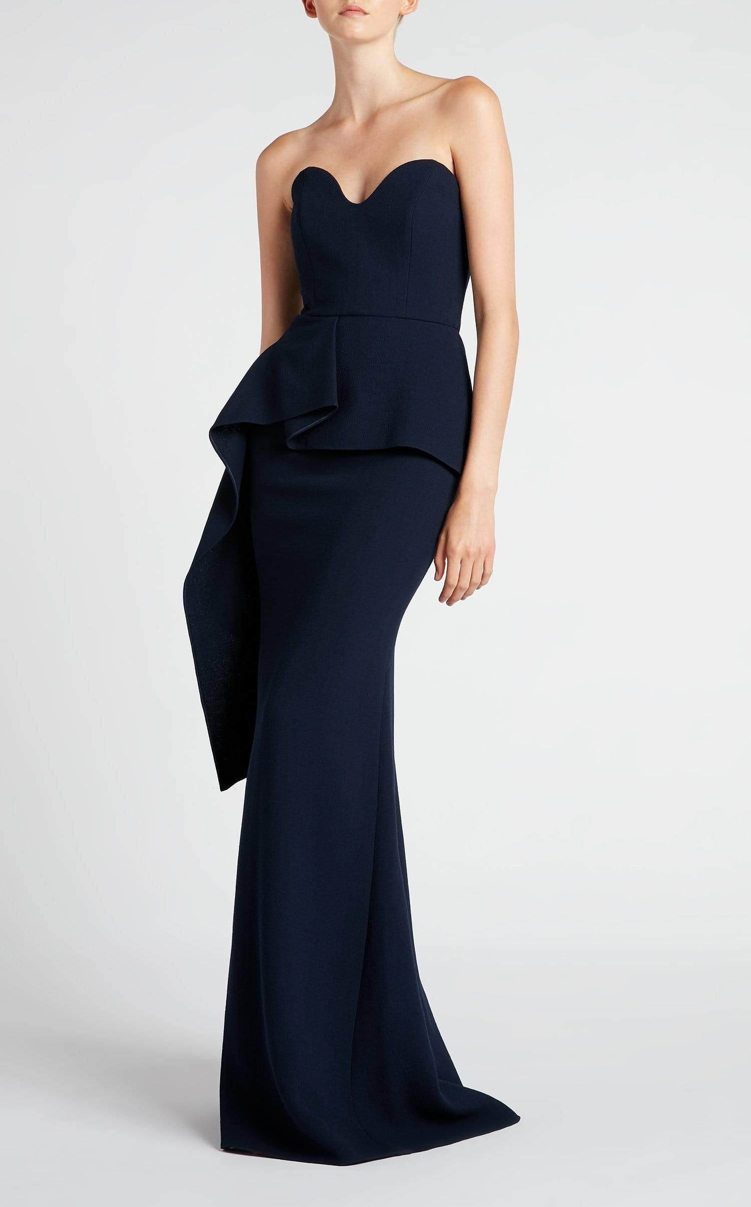 Bond Gown In Navy from Roland Mouret