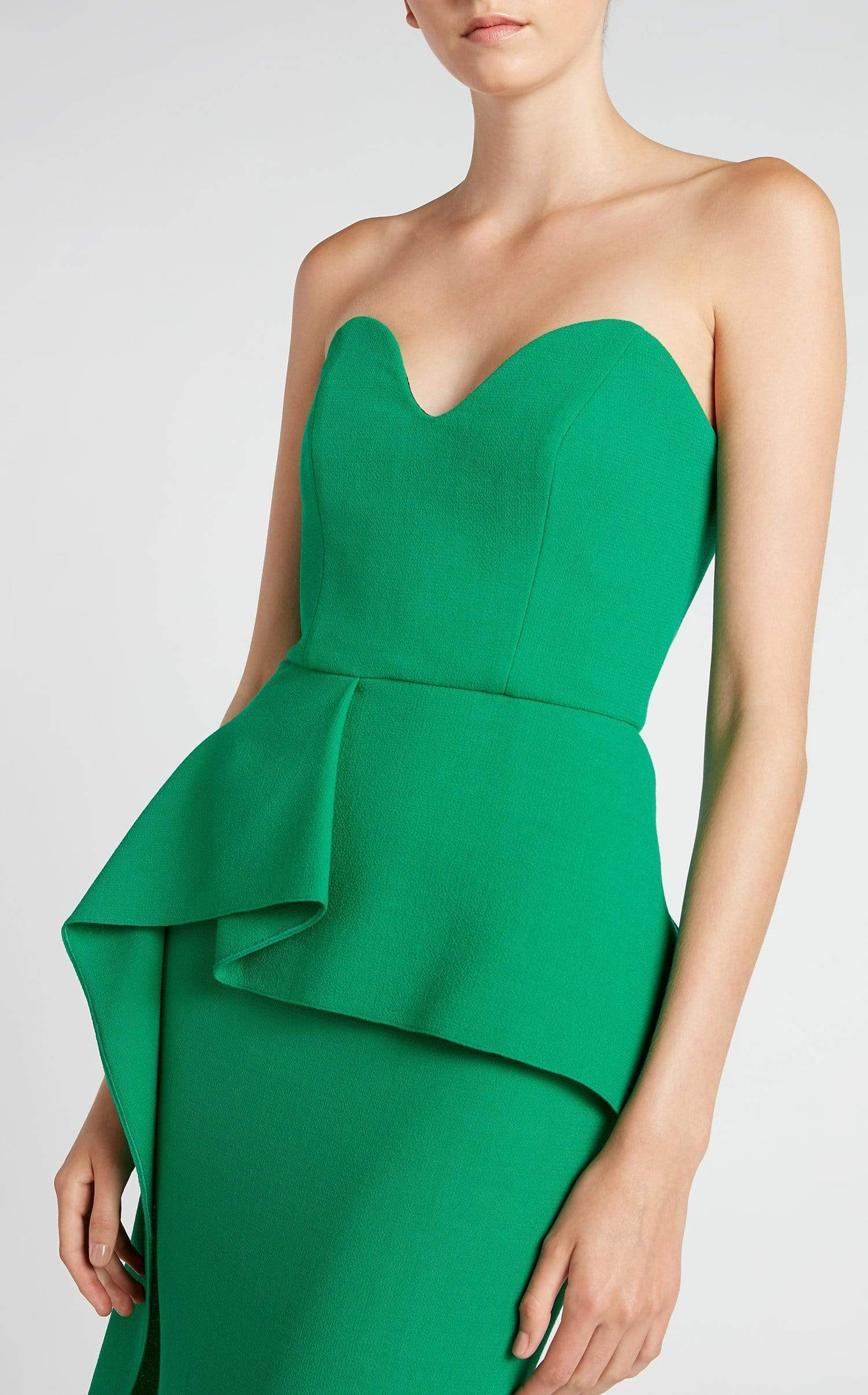 Bond Gown In Emerald from Roland Mouret