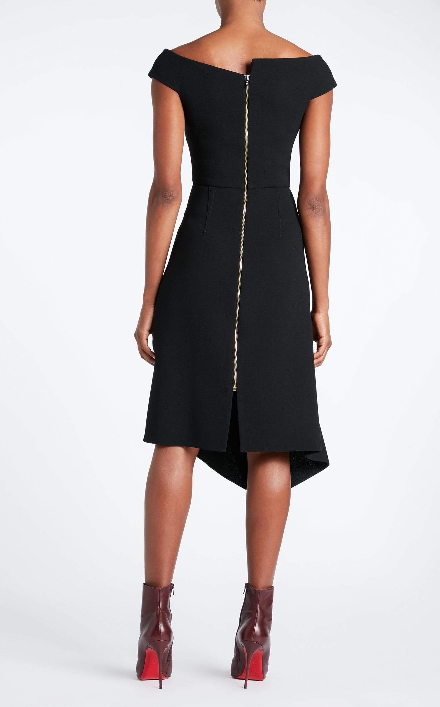 Barwick Dress In Black from Roland Mouret