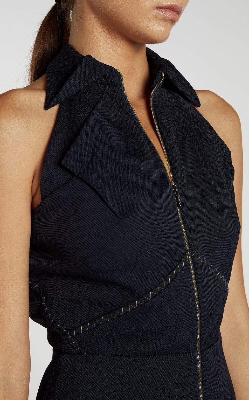 Carabelle Jumpsuit In Navy from Roland Mouret