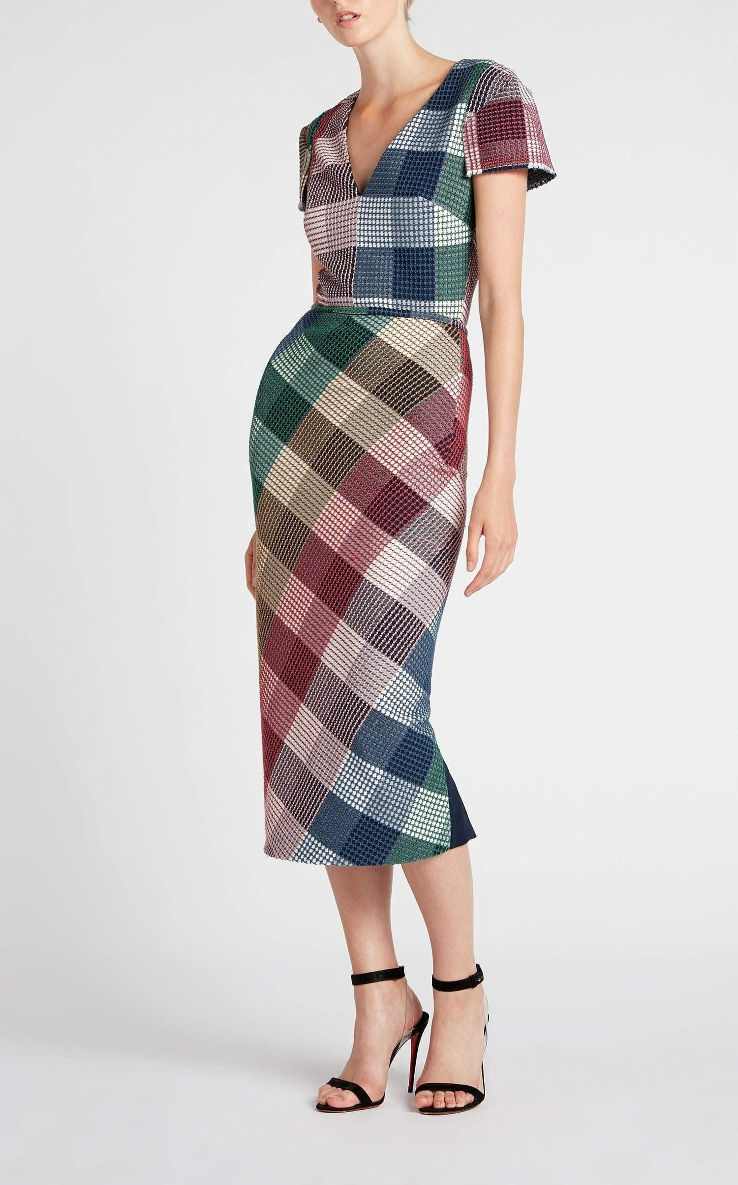 Chaney Dress In Multi from Roland Mouret