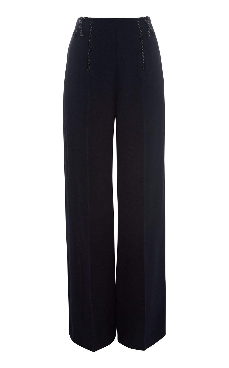 Chapelle Trouser In Navy from Roland Mouret
