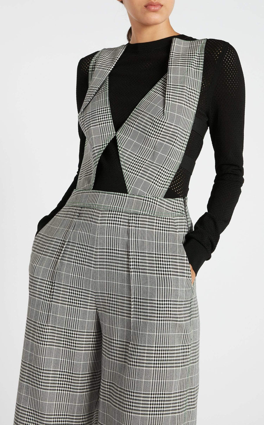Courville Jumpsuit In Monochrome from Roland Mouret