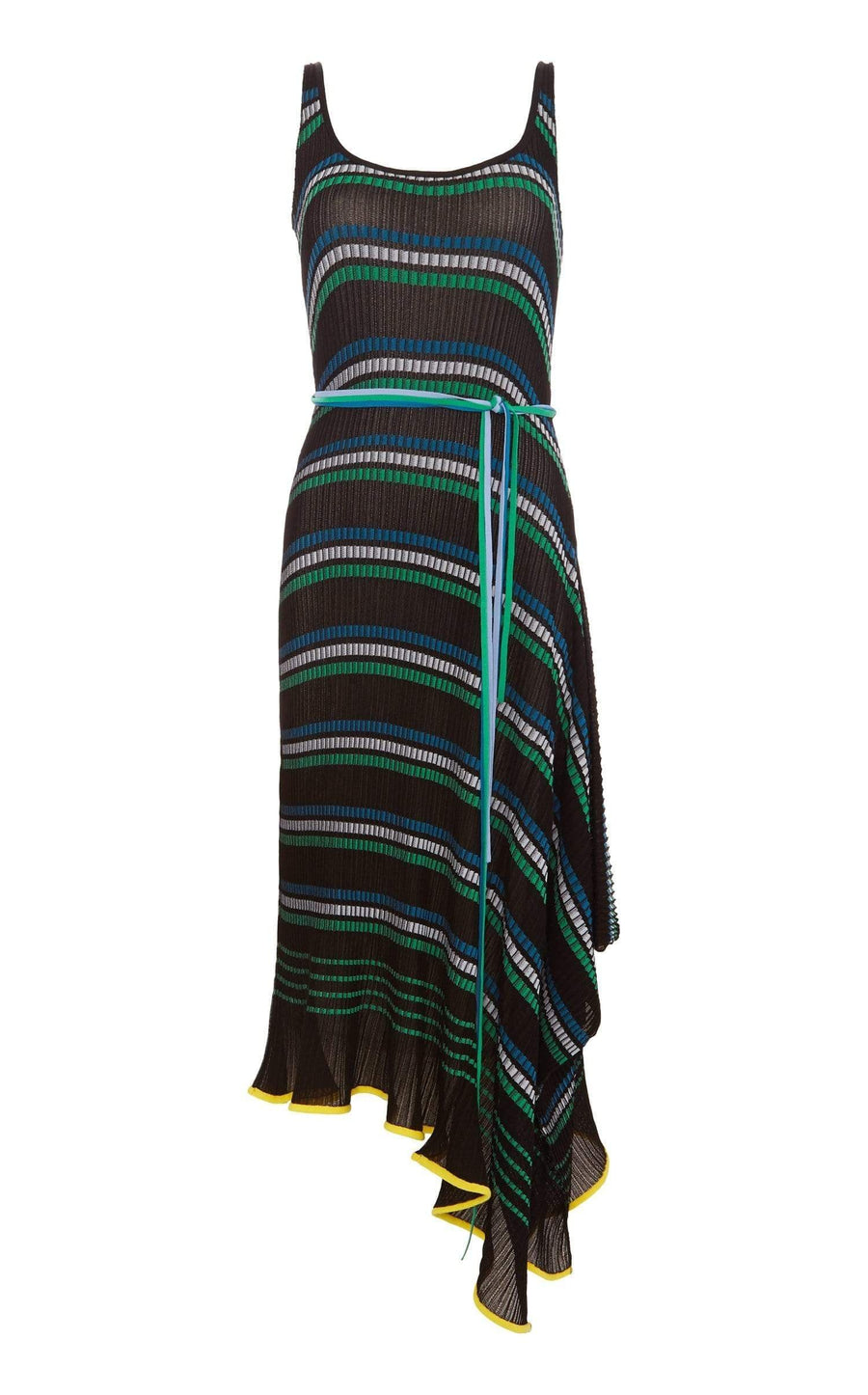 Cunningham Dress In Black Multi from Roland Mouret