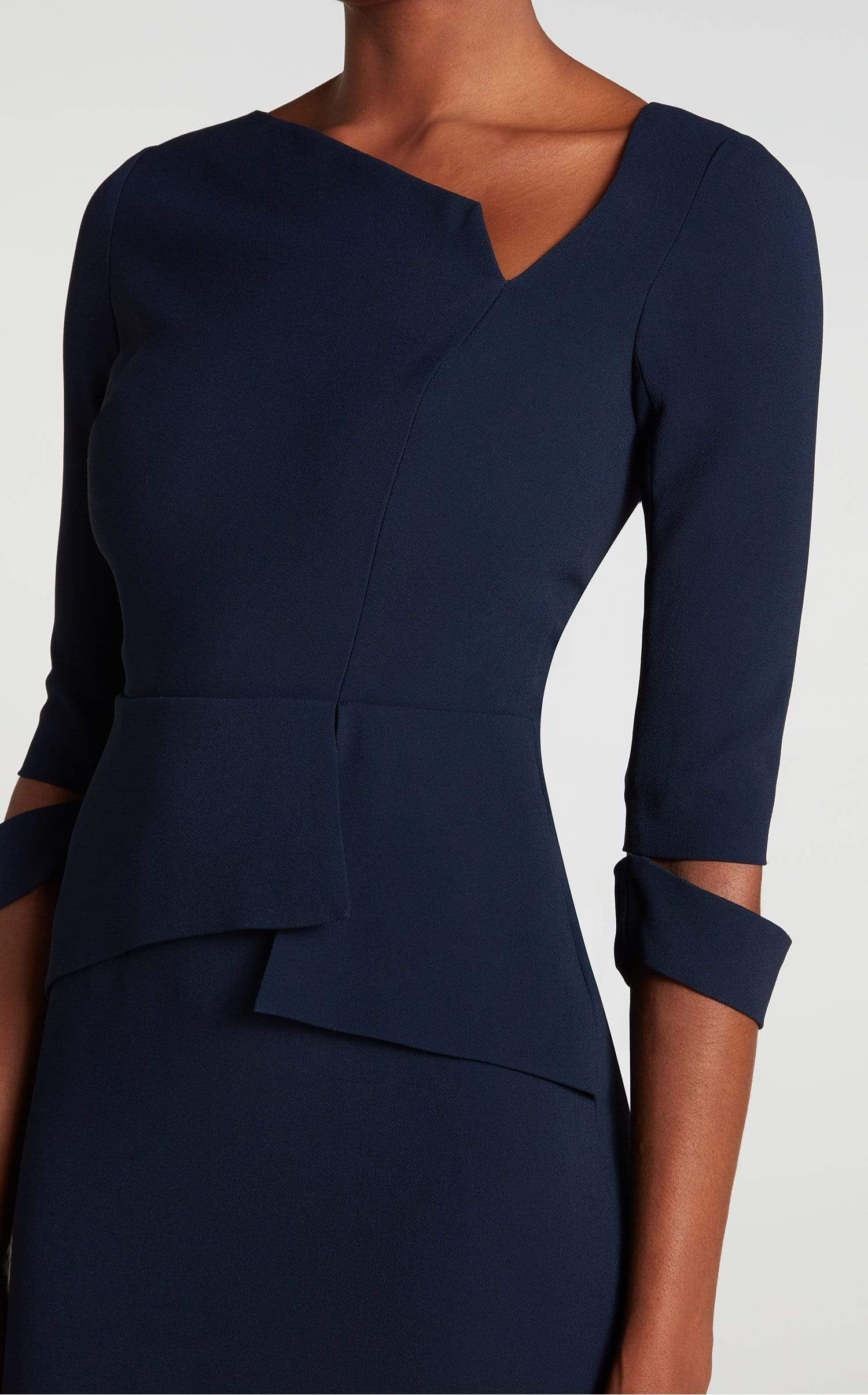 Dunne Dress In Navy from Roland Mouret