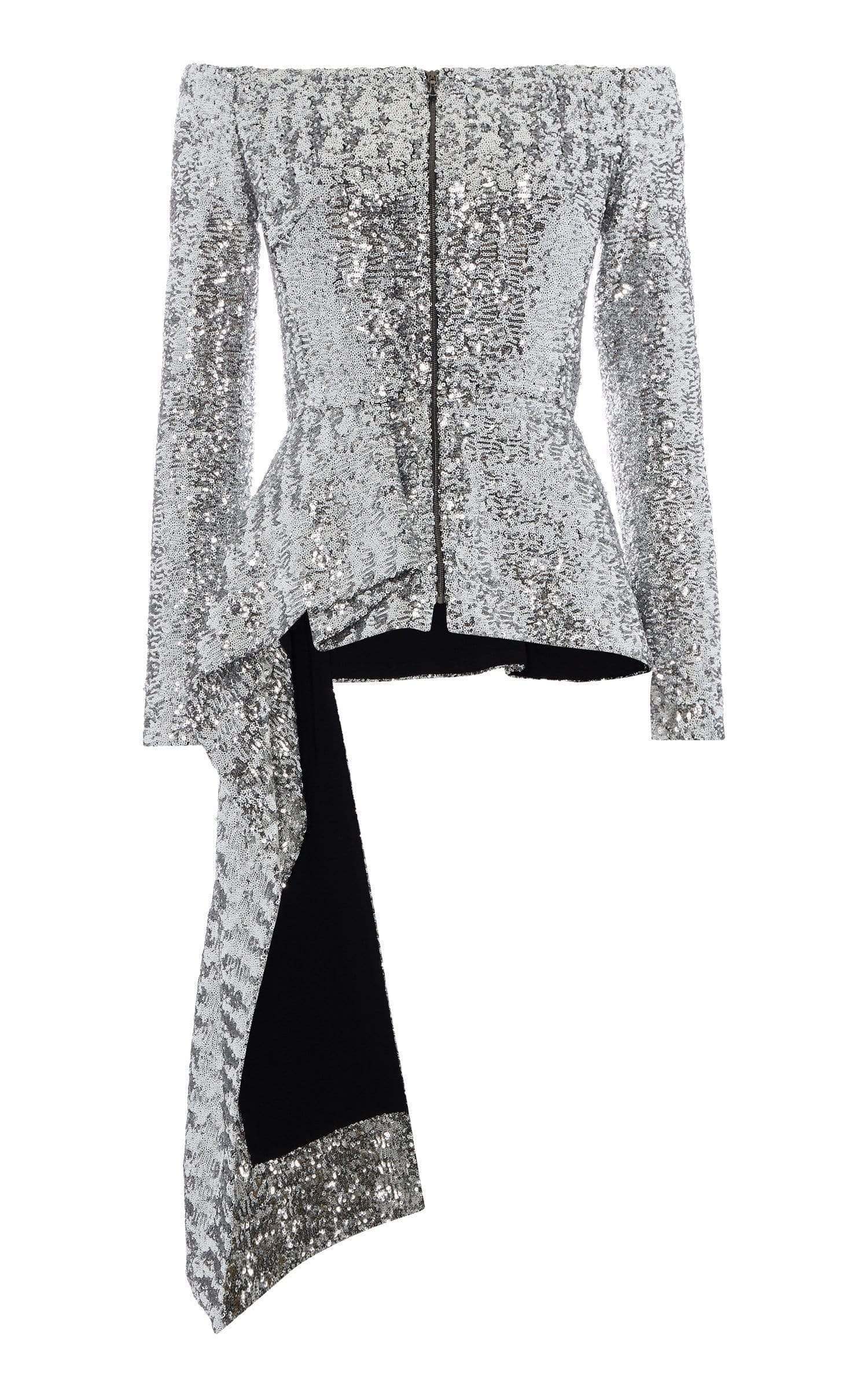 Endfield Jacket In Silver from Roland Mouret