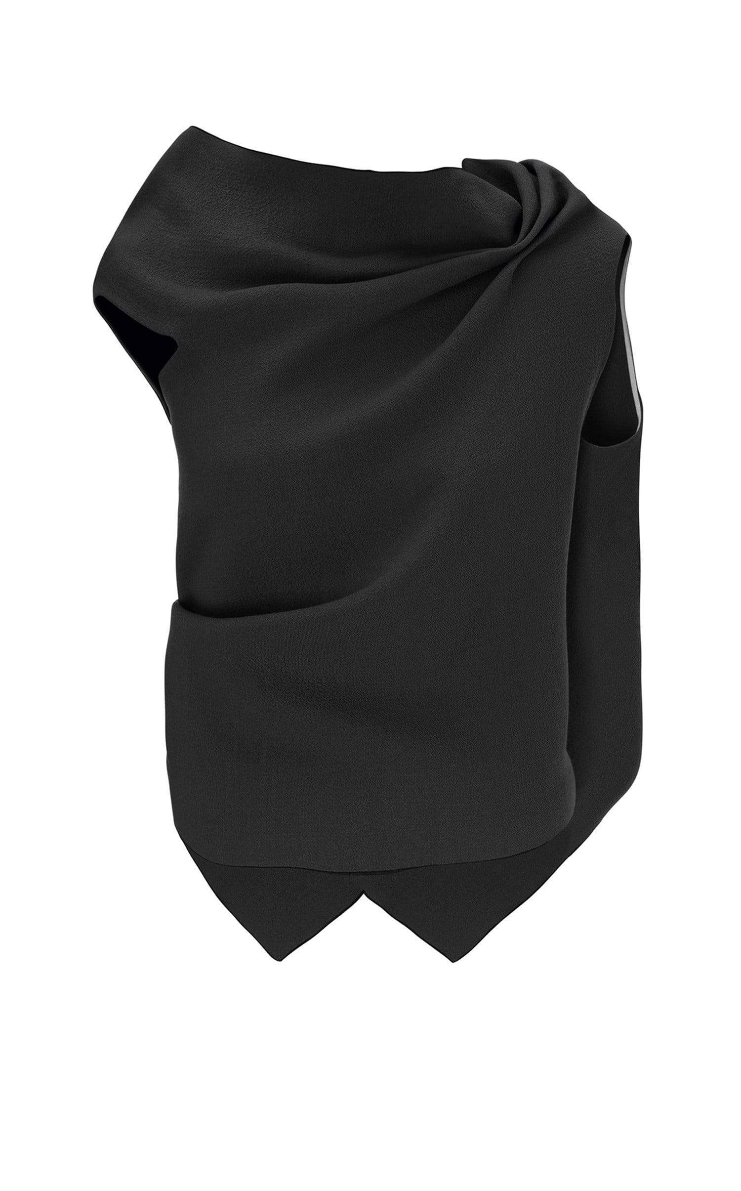 Eugene Top In Black from Roland Mouret