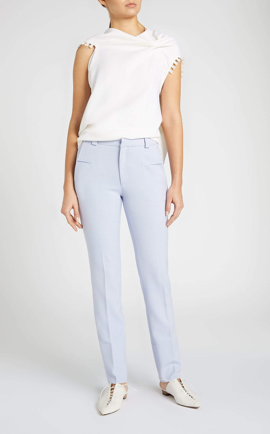 Eugene Top In White from Roland Mouret