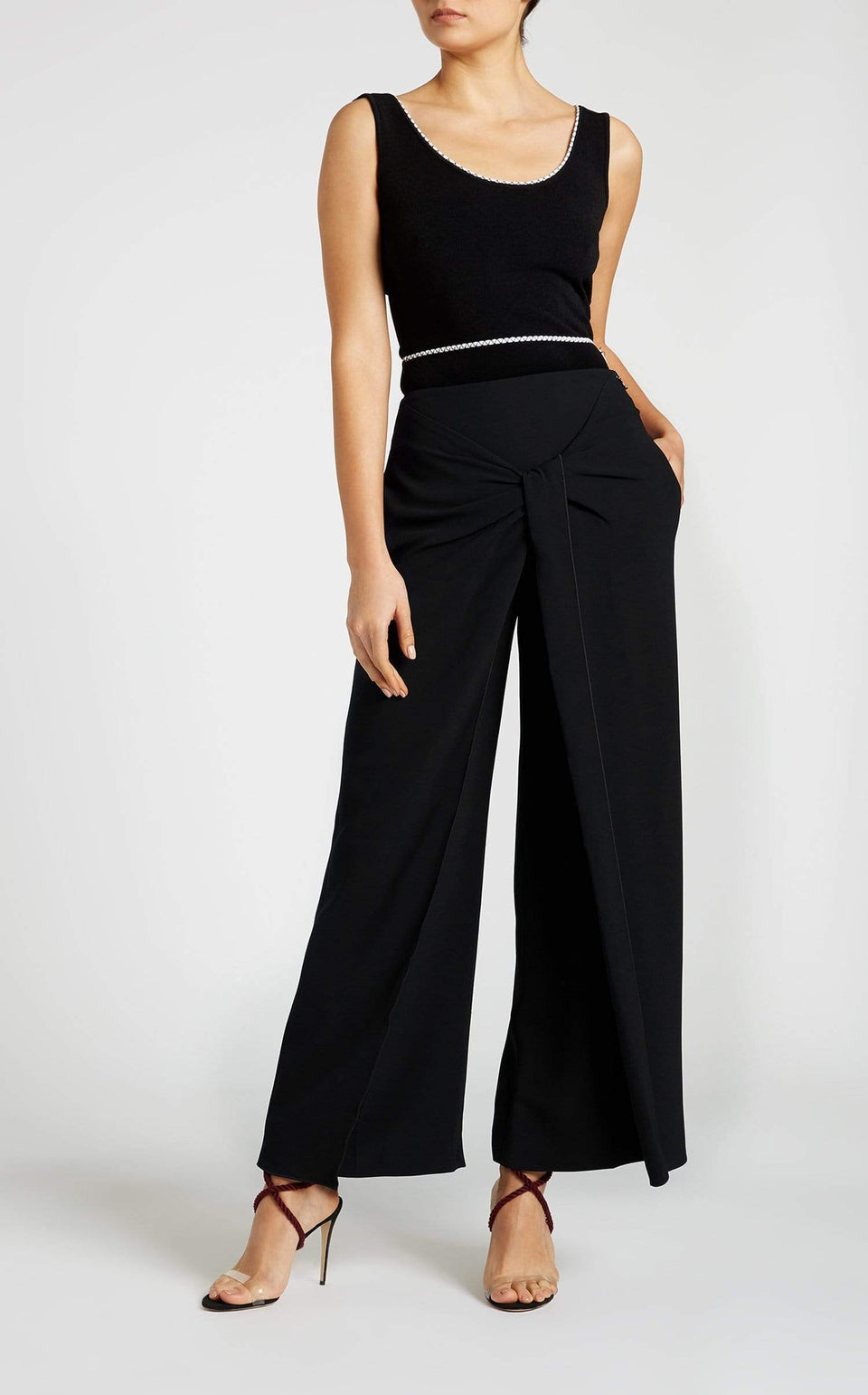 Fenwick Trouser In Black from Roland Mouret