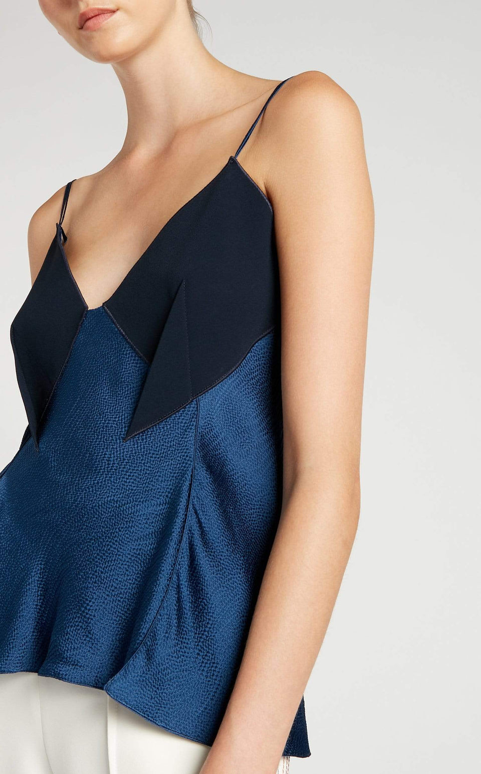 Fritz Top In Ultramarine/Navy from Roland Mouret